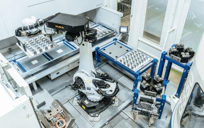 VB Automation Roboterzellen für Werkstückhandling ab Losgröße 1